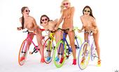 We Live Together celeste Celeste star sammie rhodes dani daniels destiny dixon super hot lesbian sex in these bicycle sex pics