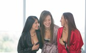 We Live Together meggan2 Before long the girls where taking turns eating each other out and having a blast and pretty soon they were all shuddering with intense orgasms but they could not wait for more loving from their hot girl friends