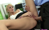 Monique Alexander fulfills an office sex fantasy for the boss