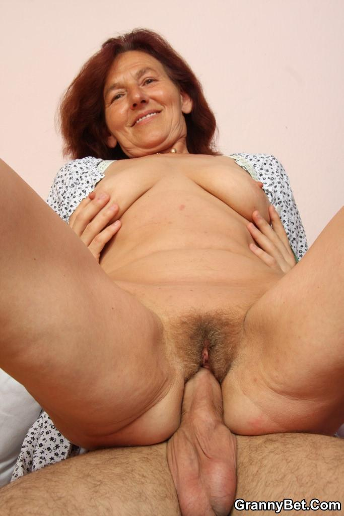Mature Wife Fucks Young Guy