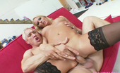 Gina Lynn Cute Riley Evans in hard sex adventure with blonde guy