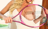 Gina Lynn Gina Lynn Tennis Playing Pics With Her Well Endowed Co-Star