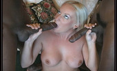 Blacks On Blondes Cali Cali Cox in an interracial threesome