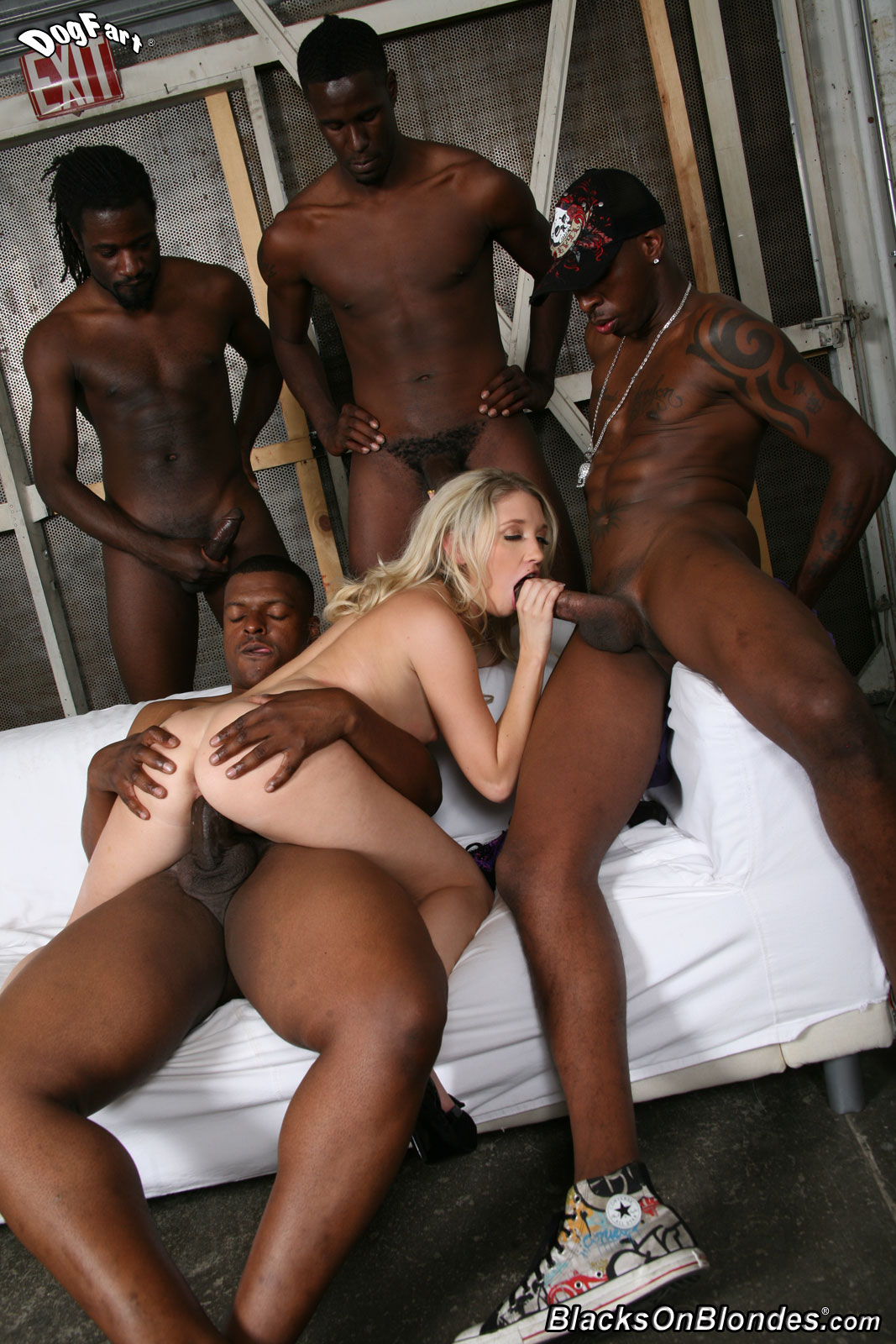 Ebony Pegging Black Man