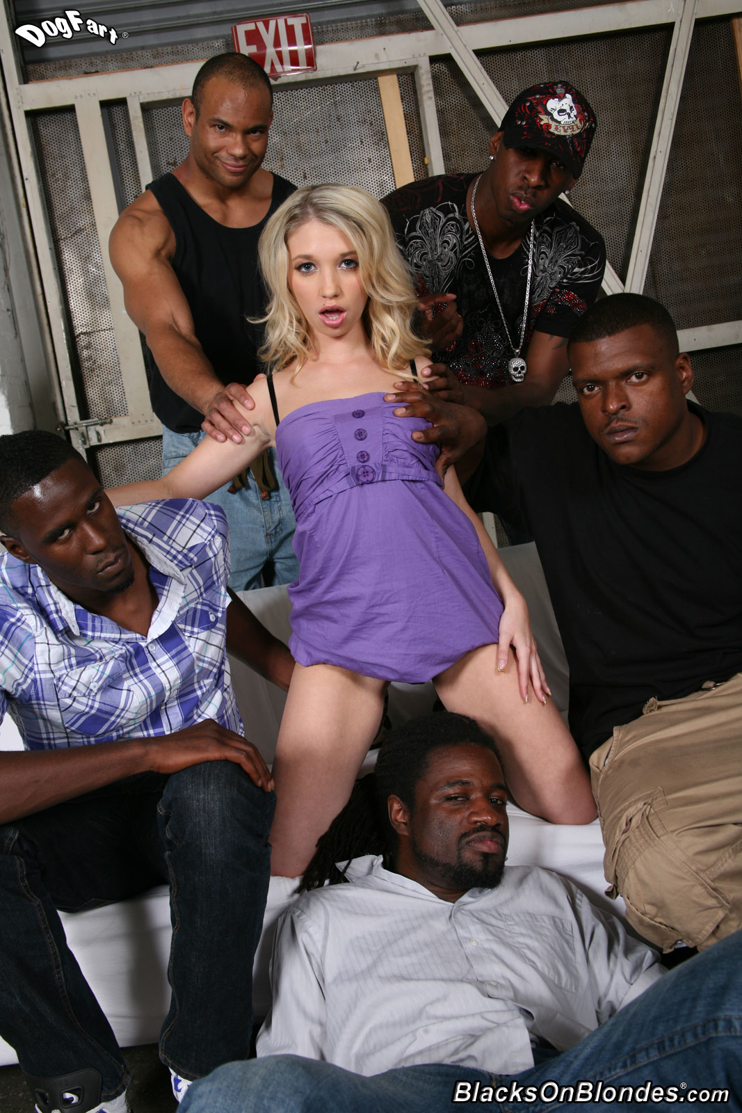 Young Black Teen Threesome