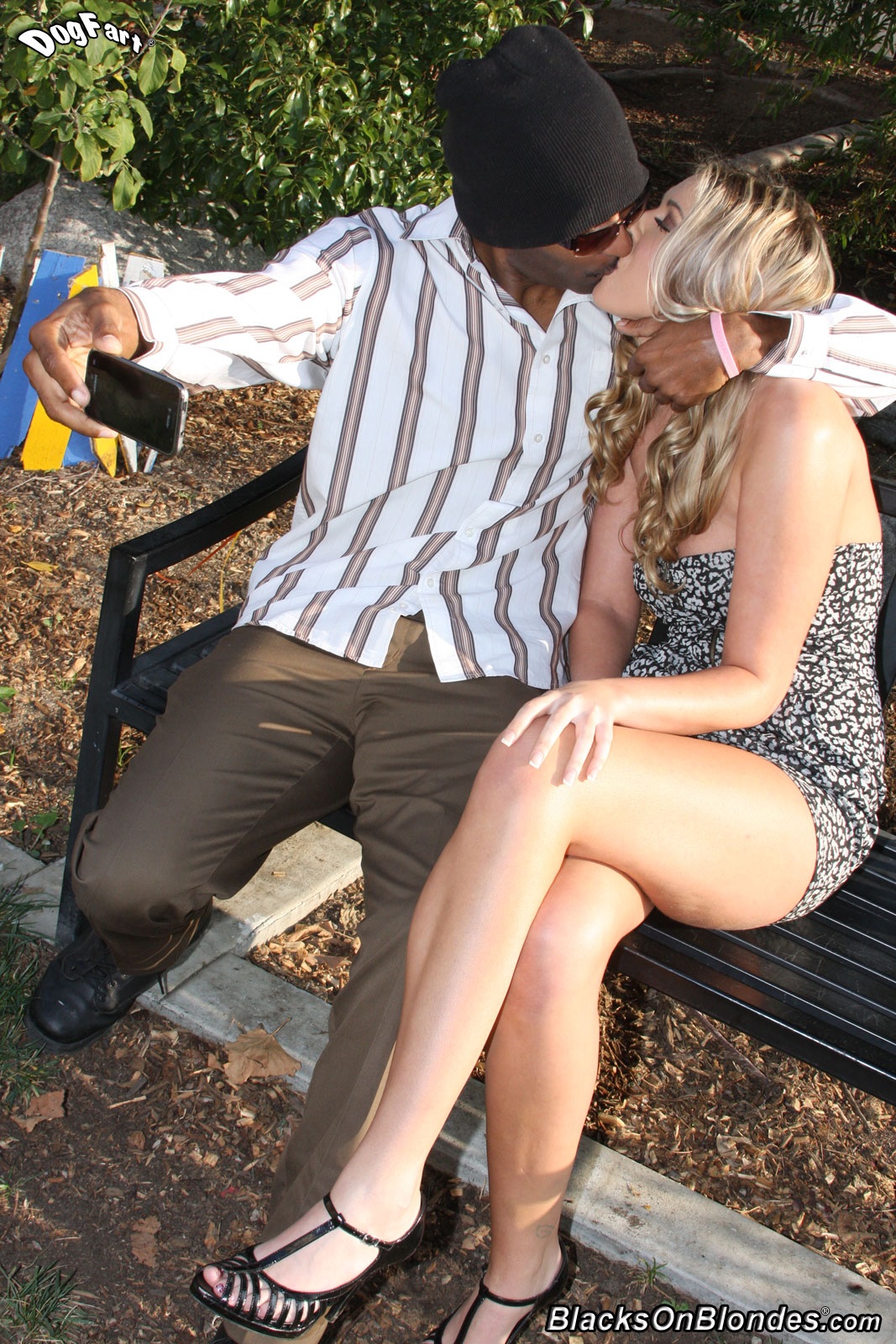 Blond Haarig Muschi Interracial