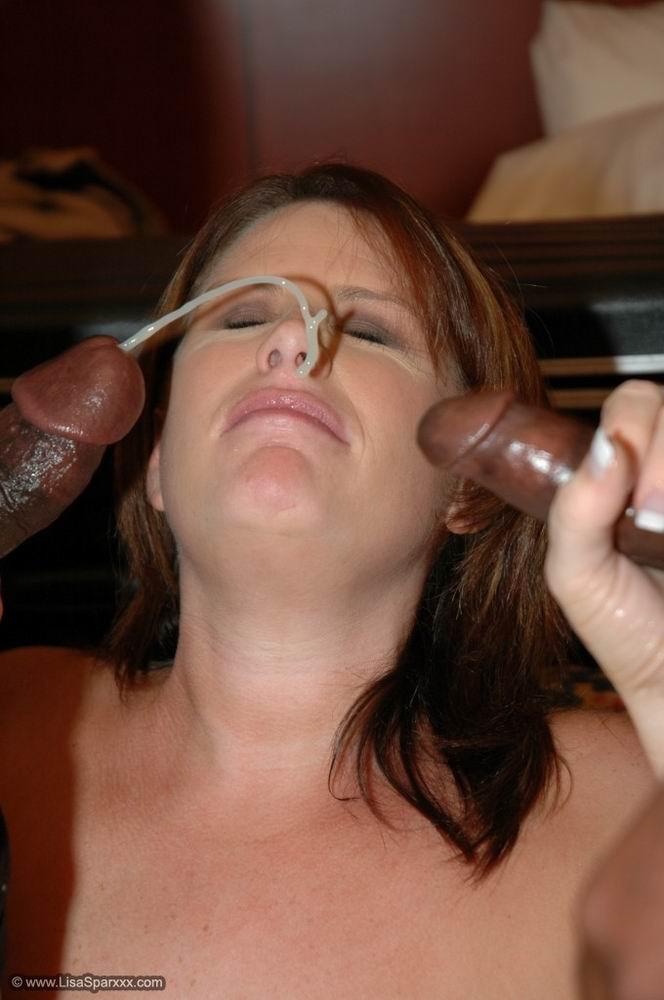 Lisa sparxxx goggle bukkake