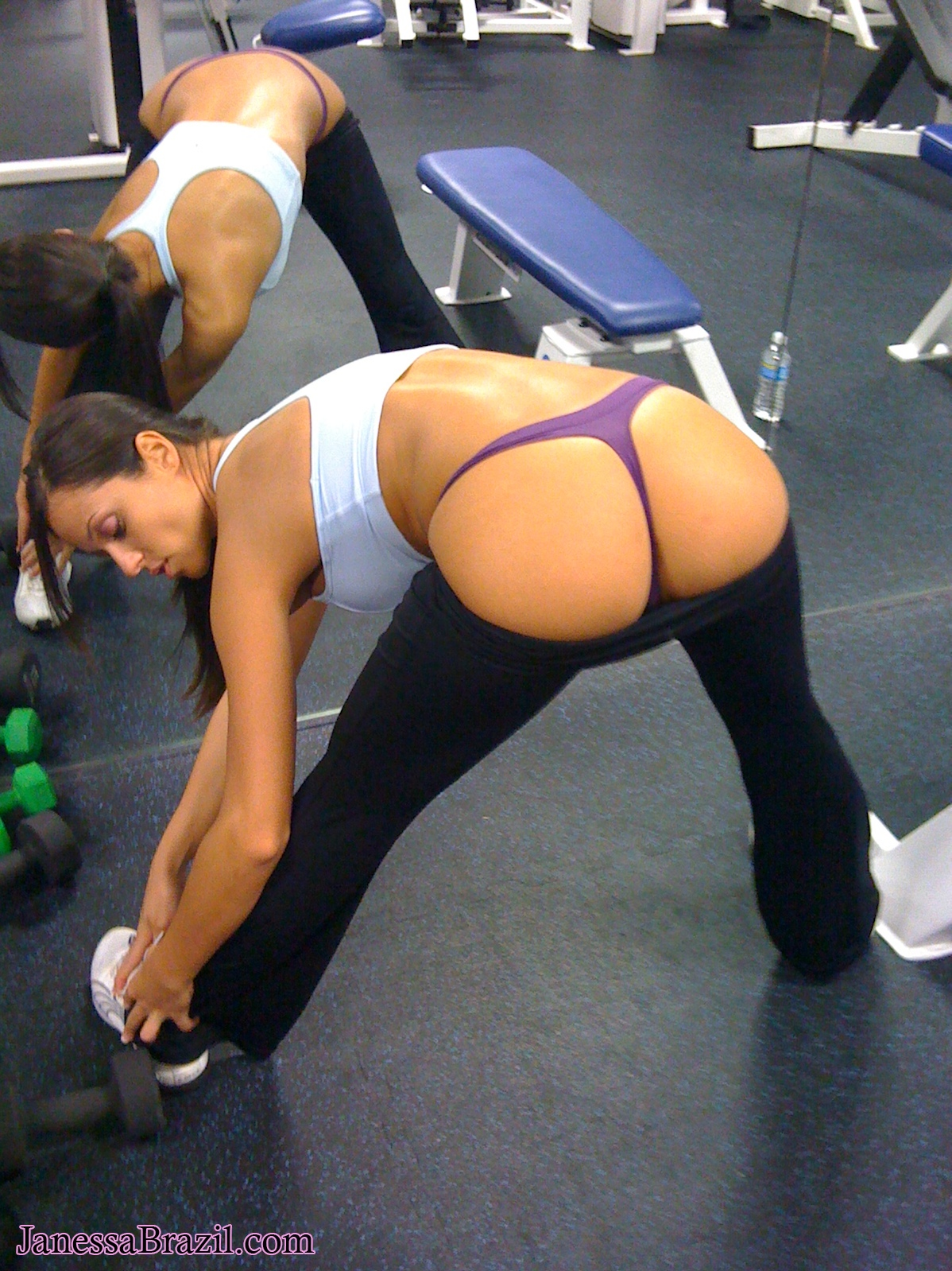 Janessa Brazil Nude Hot Gf College Girl At Gym Good