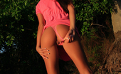 Janessa Brazil Amateur Girl getting Naked at Sunset
