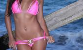 73570 Janessa Brazil Janessa Brazil in Hot Pink Bikini