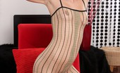 We Are Hairy Charlotte Charlotte feels comfortably sexy in her see-thru clothes Try and sneak a peak through Charlotte's sexy see-thru all-in-one...she's got a special opening over her hairy pussy where she can insert anything she likes.
