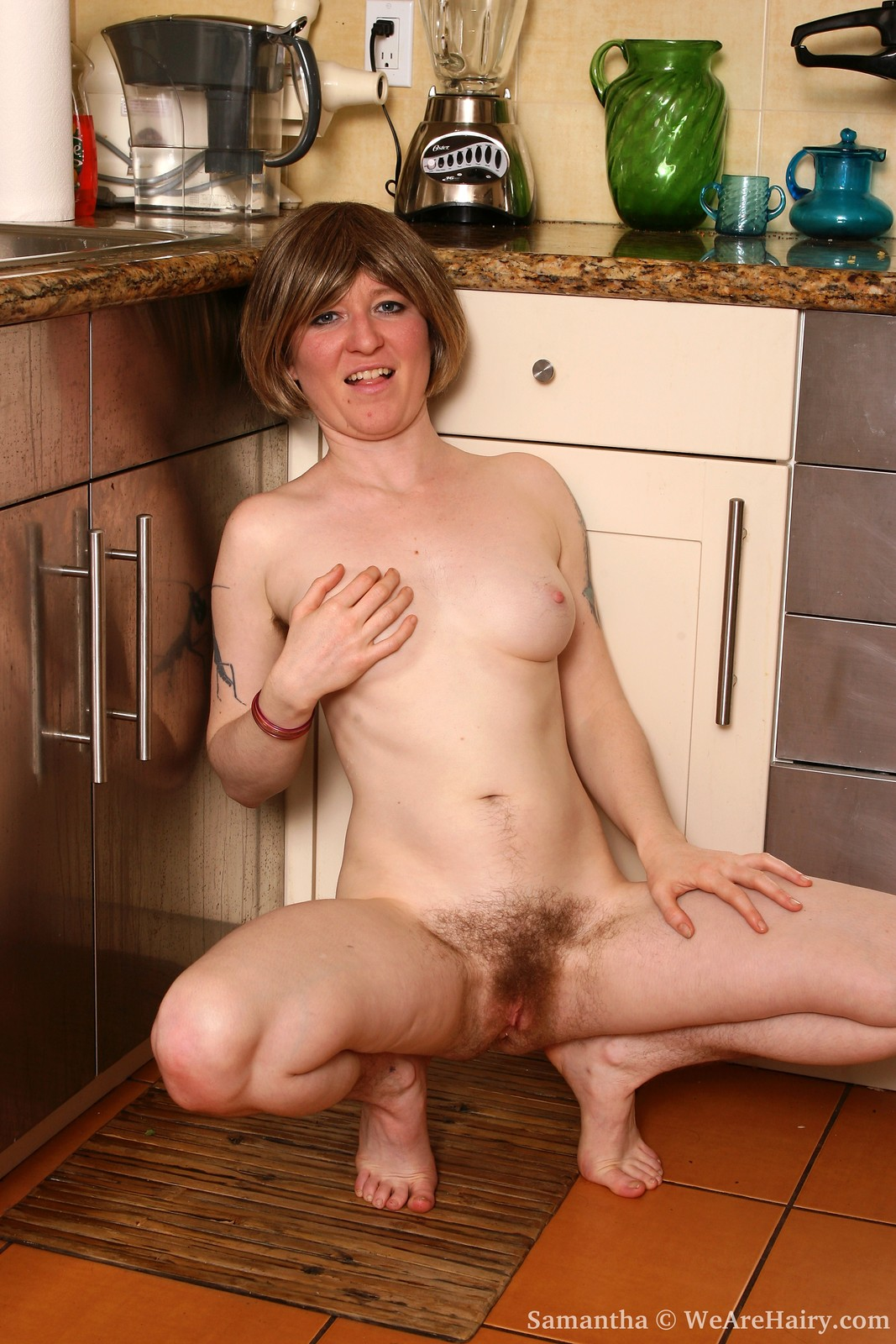 Hairy sam gets her sweet bunghole fucked by bbc 9