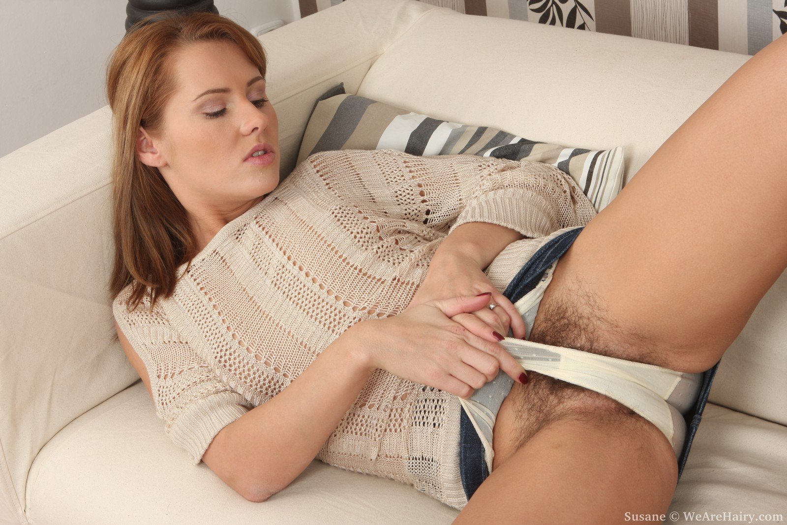 image Insatiable mature keeps her stockings on for fucking