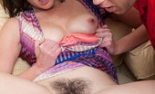 We Are Hairy Veronica Snow Veronica Snow makes a hardcore hirsute porn Veronica Snow is a sexy brunette with a hairy pussy she loves to have filled with hard cock. She is making a hardcore hirsute porn with a handsome stud that loves to slide his hard cock in her pussy.