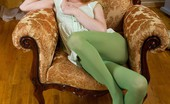 We Are Hairy Fani Fani loves playing with her pussy when she's horny Fani is a horny hairy woman. She enjoys dressing in green tights and a dress. She slowly strips away at both the dress and the tights. She played in her tights before she begins to masturbate.