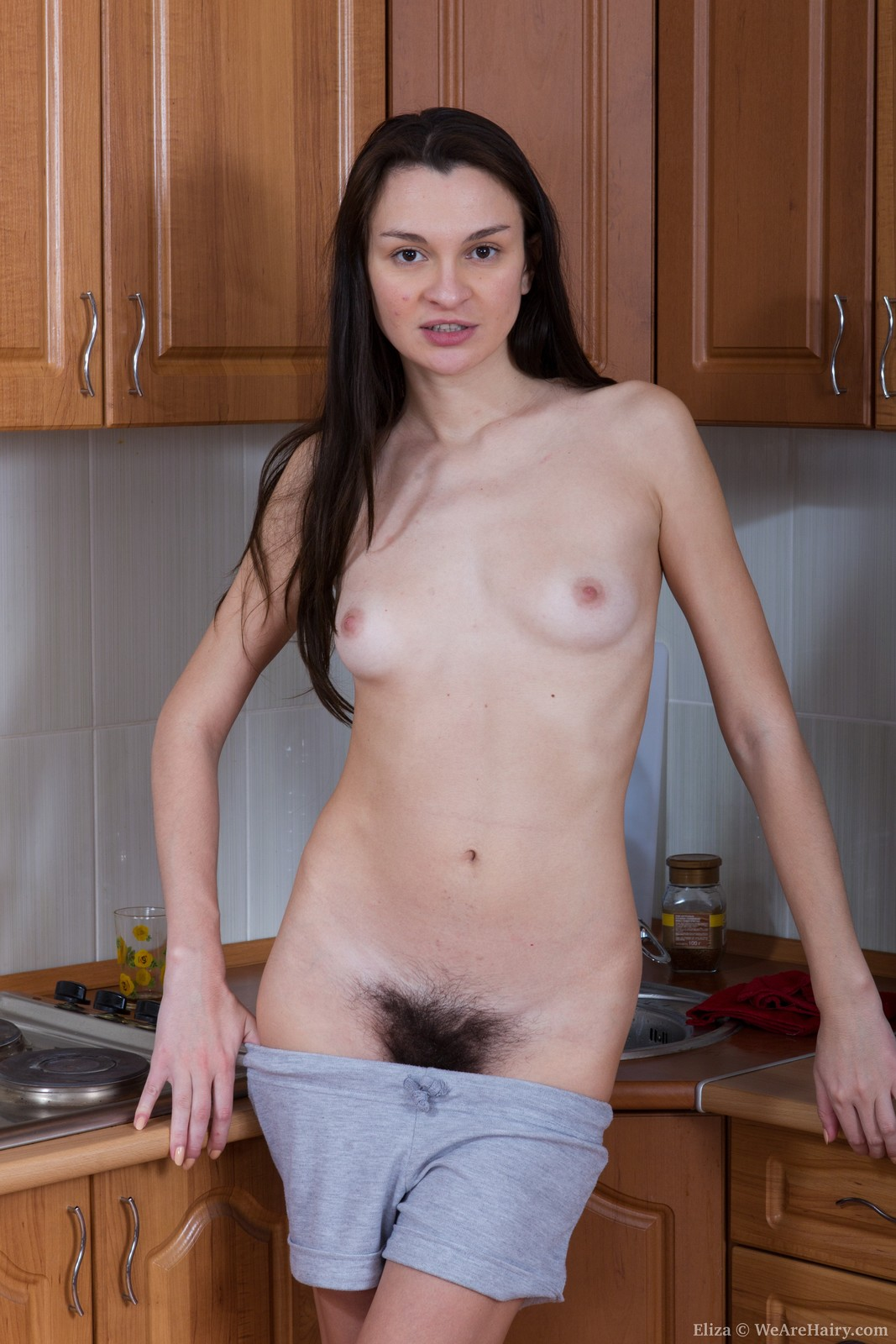 wearehairy.com-eliza mia nude We Are Hairy Eliza Eliza loves her hairy pussy in the kitchen Eliza loves  her hairy pussy and where ever she is, she will caress and pet it.