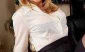 My First Sex Teacher Nina Hartley Busty blonde teacher seduces her big cocked student on her desk for hot sex.