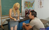 My First Sex Teacher Charlee Chase Busty cougar of a teacher fucks her big cocked student and gets big orgasms.