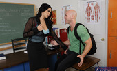 My First Sex Teacher Missy Martinez Busty latina teacher Missy Martinez has hot sex on her desk with one of her students.