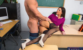 My First Sex Teacher India Summer Hot teacher India Summer meets with her student then fucks him on her desk.
