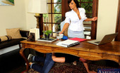 My First Sex Teacher Lisa Ann 75869 Gorgeous Lisa Ann has hot sex with surprise guest in her office.