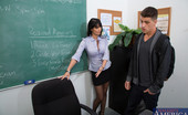 My First Sex Teacher Eva Karera Eva Karera has hot sex with one of her students with a big cock.