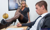 My First Sex Teacher Brandi Love Brandi Love comes to life in students dream and she fucks him right in her classroom.