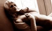 Digital Desire Heather Starlet in an elegant black and white nude series