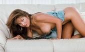 Digital Desire Chloe takes off her black top and panties