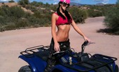 Destiny Dixon Quading Candids I finally got to play in the dessert after getting settled in. We rented some quads and had a blast riding and other naughtiness! Check out these candid behind the scenes.