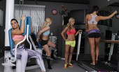 Briana Jordan,Aaliyah Love,Cherie DeVille,Destiny Dixon Pussy Training 78452 So I was at the gym with the girls and my trainer Miss DeVille. I was trying to catch up on social networks in the middle of it lol you know me always multi-tasking. Cherie calls me out in front of all the girls and teaches me a lesson.