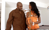Lex Steele Monica Foster 78956 Ebony beauty Monica Foster nailed by Lex Steeles hard black cock in these video clips
