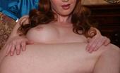 Marie McCray strips a skimpy dress and masturbates