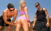 Monster Curves madison Mega ass madison gets her round plump booty fucked hard after getting picked up by 2 guys at the park