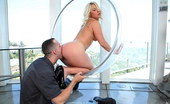 Monster Curves kimmy 79658 Kimmy olsen gets banged hard against the wall in this hot see though chair fucking cumfaced pic set
