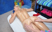 Fucked Hard 18 Natalia Rogue Hot 18 year old blonde gets fucked hard from behind by her massage therapist