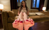 80130 Foot Worship Gorgeous housewife seduces husband with her feet giving him a filthy wet foootjob then eating his cum off her feet!