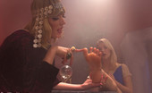 Foot Worship Cute blonde visits gypsy to have her fortune told and her kinky foot fantasies unfold until she's worshipping and getting penetrated deep with feet!