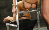Sex And Submission Candy Manson is helplessly bound and face fucked.