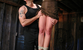 Sex And Submission Girl bound and fucked in wheelbarrow.