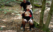 Sex And Submission Business women grabbed and tied up in the woods to be fucked and dominated!