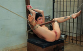 Sex And Submission Asphyxia Noir bound and intense rough sex by prison guard!