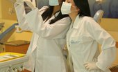 Karla Spice and her friend Gaby play doctor with each other