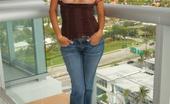 Mindy Vega 82524 Casual on the Balcony