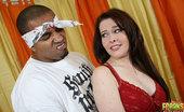 Freaks Of Cock Mae Victoria Hot Maetakes huge cumshot in face