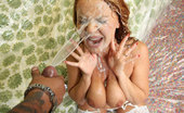 Freaks Of Cock Janet Mason Sexy young thing fucked and facialized by a monster dong
