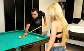Mike In Brazil annie Horny little red head annie gets her brazilian pussy pounded on the pool table in these hot pics