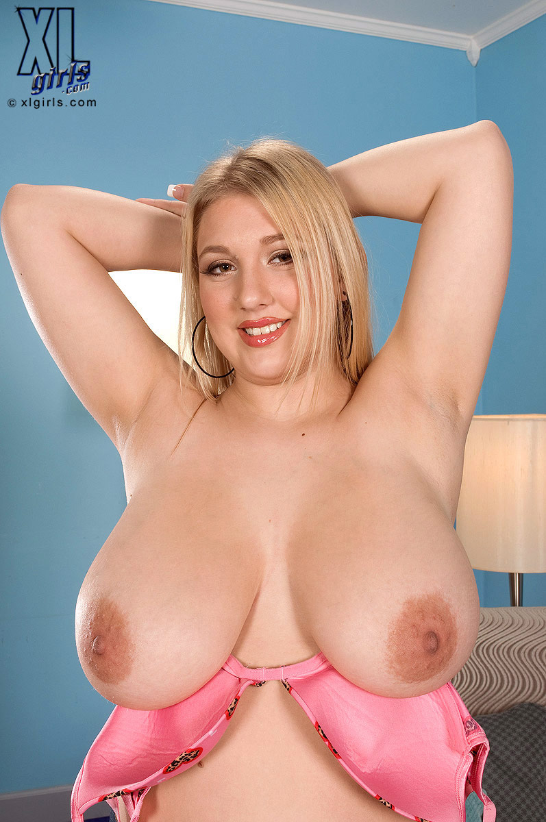 Blonde Big Natural Tits