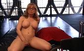 Nina Hartley  Horny With Her Toys In A Solo Chat Session