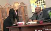 Nina Hartley  Gets A Big Black Cock For Her Hungry Pussy